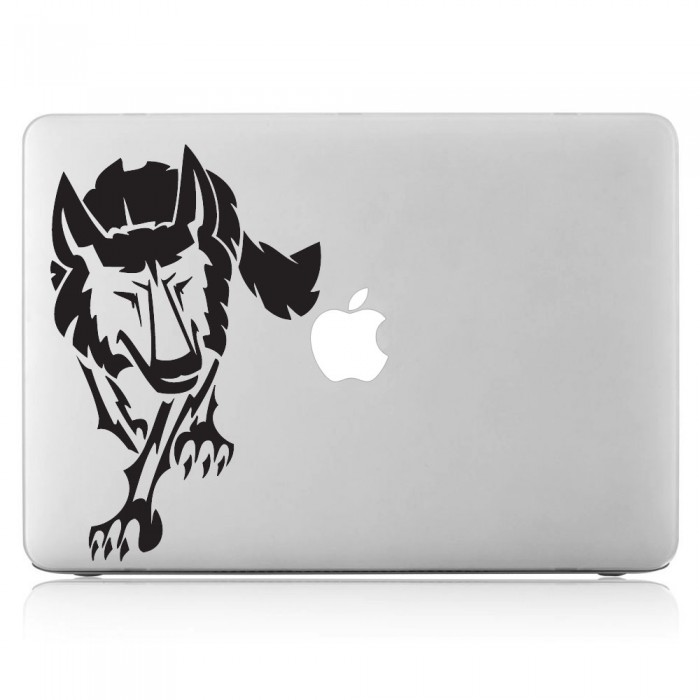 Wolf Tattoo 2 Laptop / Macbook Vinyl Decal Sticker (DM-0379)