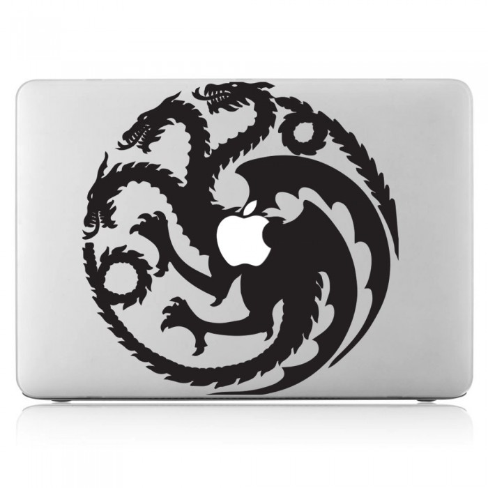 Targaryen House Sigil Laptop / Macbook Vinyl Decal Sticker (DM-0391)