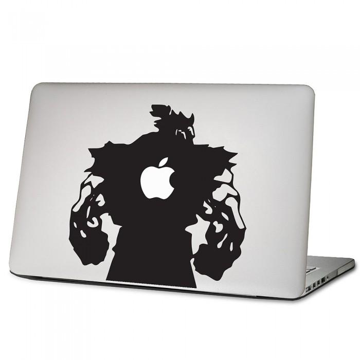 Akuma Street Fighter Laptop Macbook Vinyl Decal Sticker
