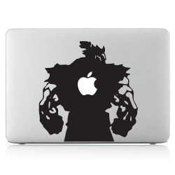 Akuma street fighter Laptop / Macbook Vinyl Decal Sticker