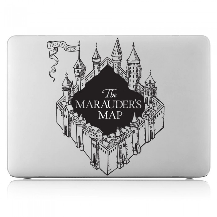 Harry potter The marauder's Map Laptop / Macbook Vinyl Decal Sticker (DM-0395)