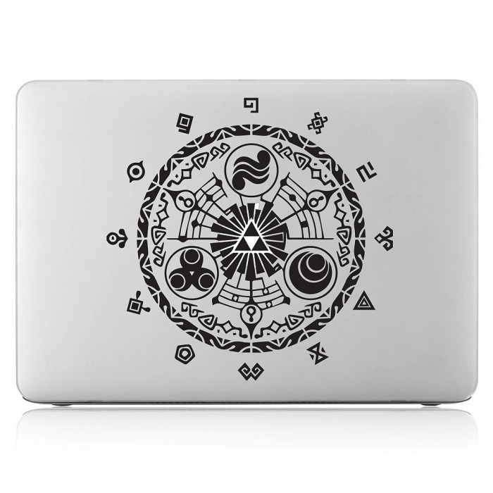 Legend of zelda gate of time laptop macbook vinyl decal sticker