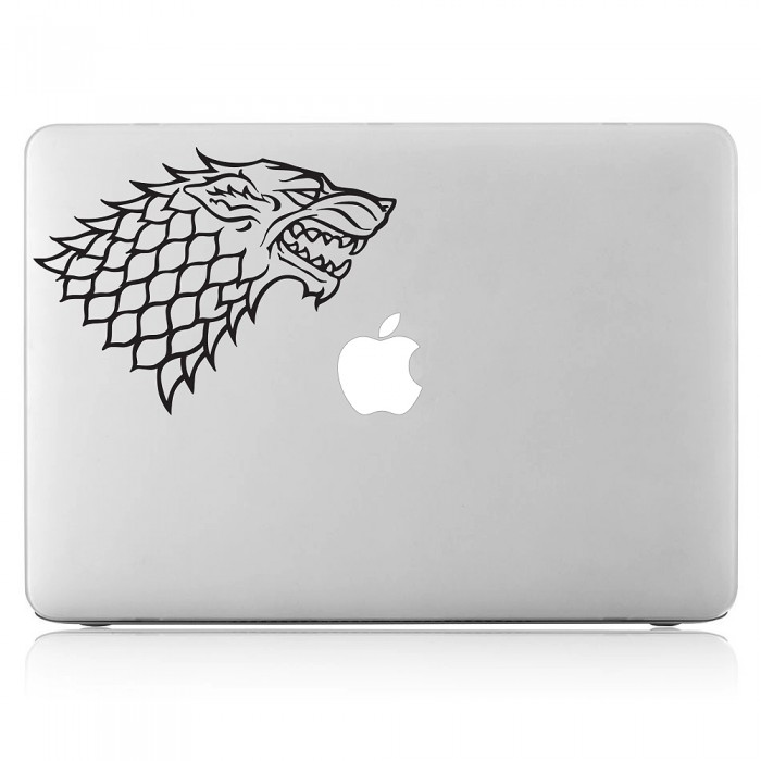 House Stark Sigil Laptop / Macbook Vinyl Decal Sticker (DM-0404)