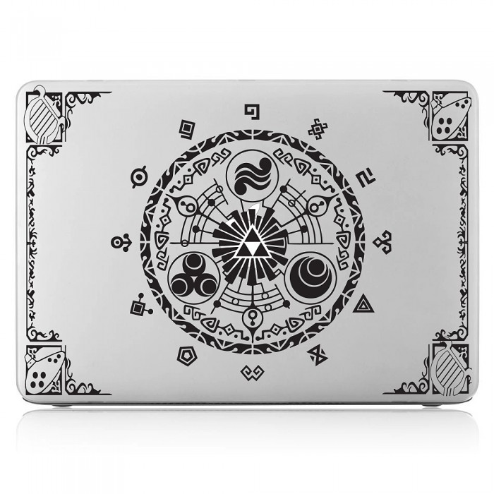 Zelda gate of time Laptop / Macbook Vinyl Decal Sticker (DM-0410)