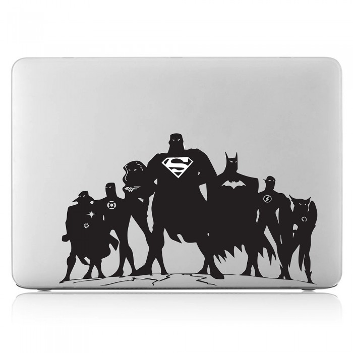 Super Hero Laptop / Macbook Vinyl Decal Sticker (DM-0423)