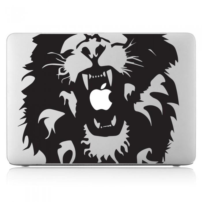 Lion head Laptop / Macbook Vinyl Decal Sticker (DM-0426)