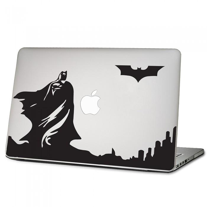 cd6d1987d43e Batman skyline dark knight Laptop / Macbook Vinyl Decal Sticker (DM-0428)