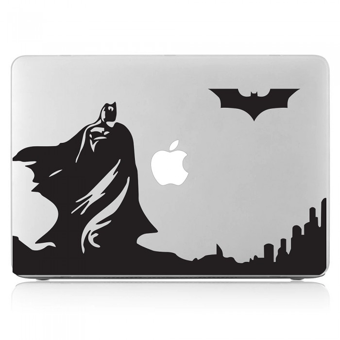Batman skyline dark knight laptop macbook vinyl decal sticker dm 0428
