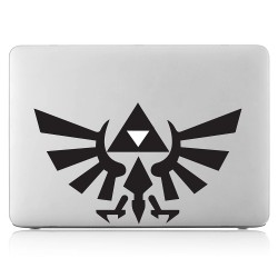 Zelda Triforce Emblem Laptop / Macbook Vinyl Decal Sticker