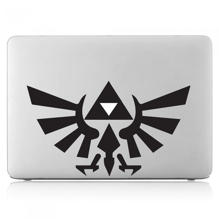 Zelda Triforce Emblem Laptop / Macbook Vinyl Decal Sticker (DM-0429)