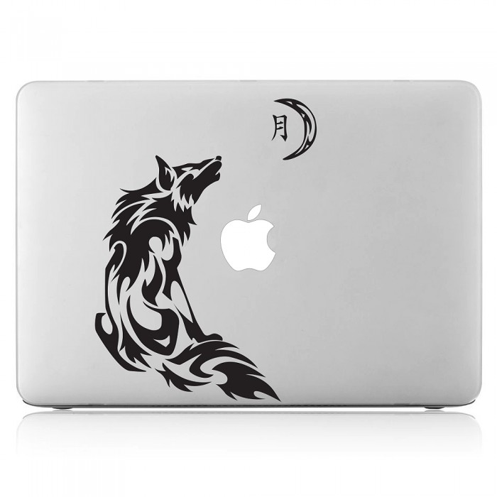 Wolf moon Laptop / Macbook Vinyl Decal Sticker (DM-0430)