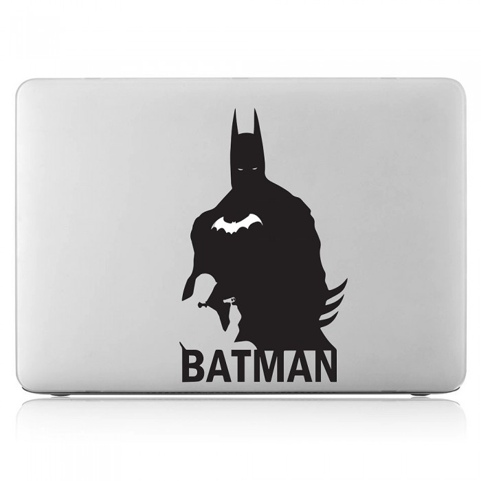 Super hero the dark knight laptop macbook vinyl decal sticker