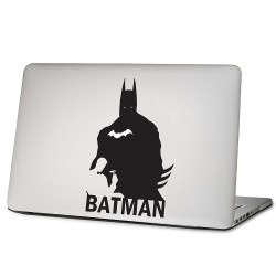 Super hero the dark knight Laptop / Macbook Vinyl Decal Sticker