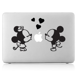 Mickey and Minnie Laptop / Macbook Vinyl Decal Sticker