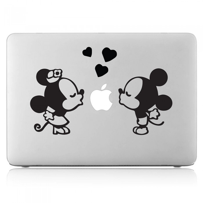 Mickey and Minnie Laptop / Macbook Vinyl Decal Sticker (DM-0435)