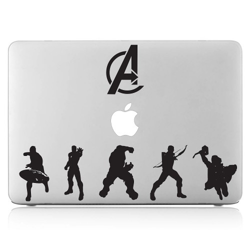 A Superheros Laptop / Macbook Vinyl Decal Sticker