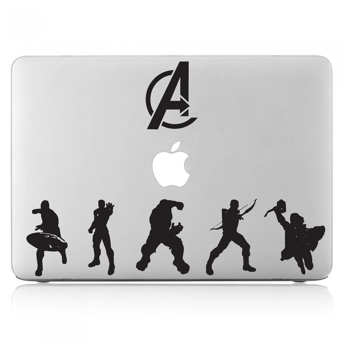 A Superheros Laptop / Macbook Vinyl Decal Sticker (DM-0442)