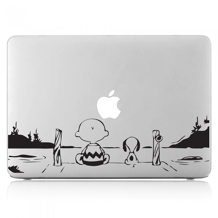 snoopy Laptop / Macbook Vinyl Decal Sticker (DM-0451)