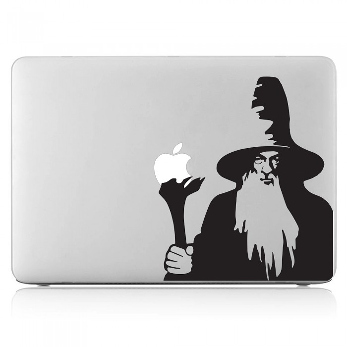 Gandalf Lord of the rings   Laptop / Macbook Vinyl Decal Sticker (DM-0455)