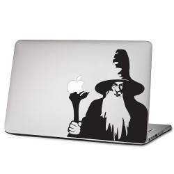 Gandalf Lord of the rings  Laptop / Macbook Vinyl Decal Sticker