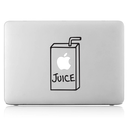 Apple juice Box Laptop / Macbook Vinyl Decal Sticker