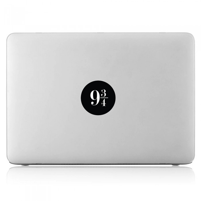 Platform 9 3/4 harry potter Laptop / Macbook Vinyl Decal Sticker (DM-0460)