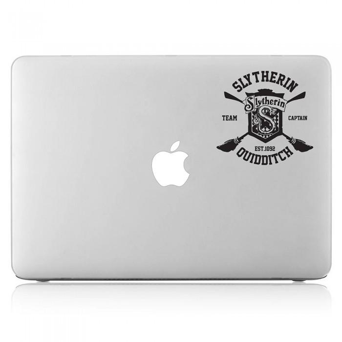 Harry Potter Slytherin House Quidditch Laptop / Macbook Vinyl Decal Sticker (DM-0462)