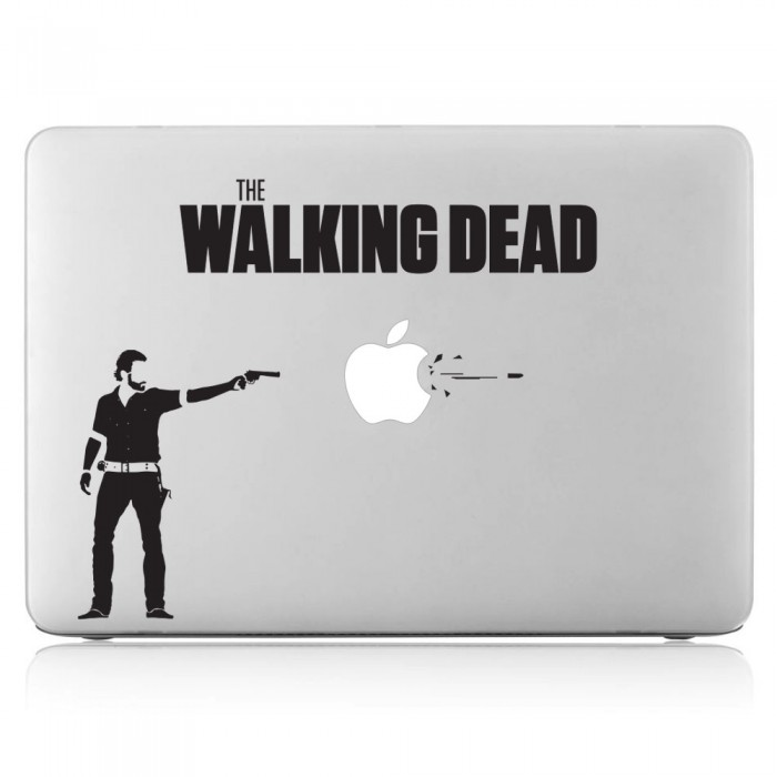 The Walking Dead Rick Laptop / Macbook Vinyl Decal Sticker (DM-0492)