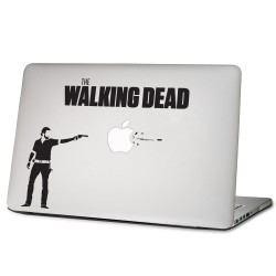 The Walking Dead Rick Laptop / Macbook Vinyl Decal Sticker