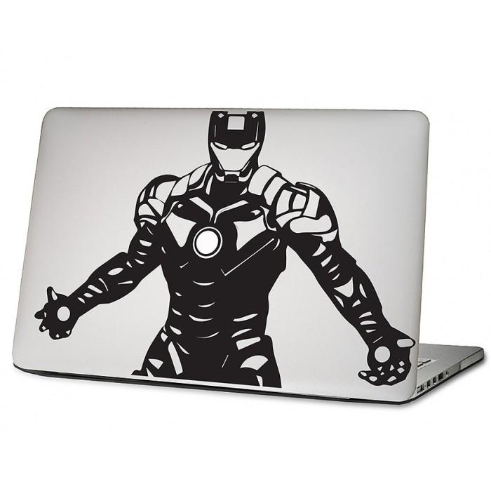 bfb6f163a98c Iron Man Laptop / Macbook Vinyl Decal Sticker (DM-0493)