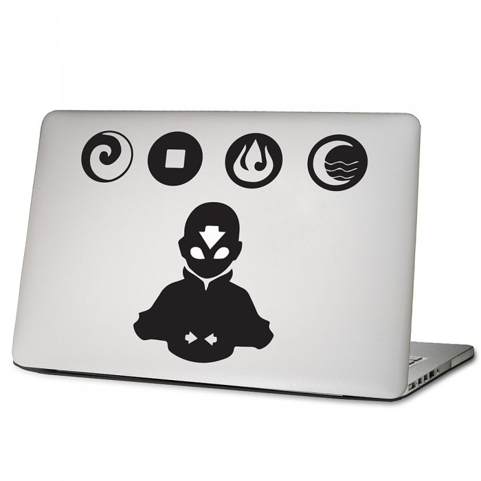 Avatar the last airbender laptop macbook vinyl decal sticker