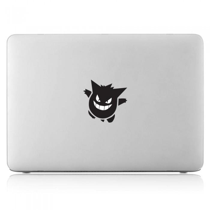 Gengar Pokemon Ghost Laptop / Macbook Vinyl Decal Sticker (DM-0497)