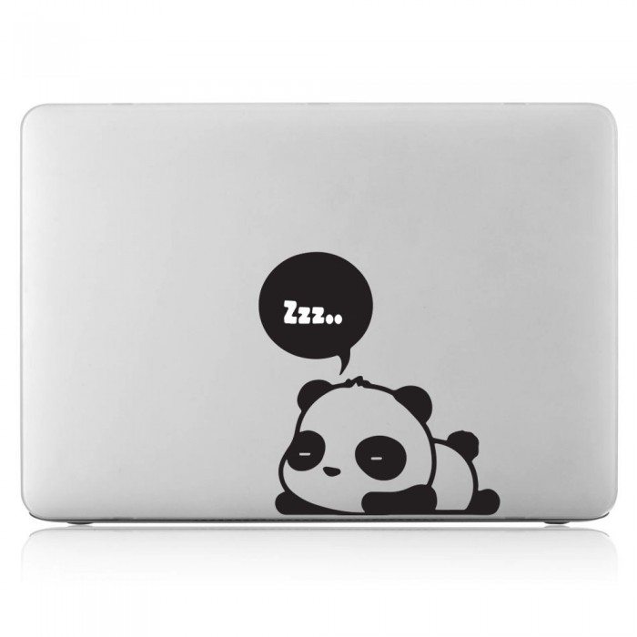 Panda sleep Laptop / Macbook Vinyl Decal Sticker (DM-0499)