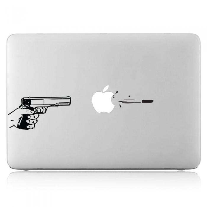 Shoot gun Laptop / Macbook Vinyl Decal Sticker (DM-0502)