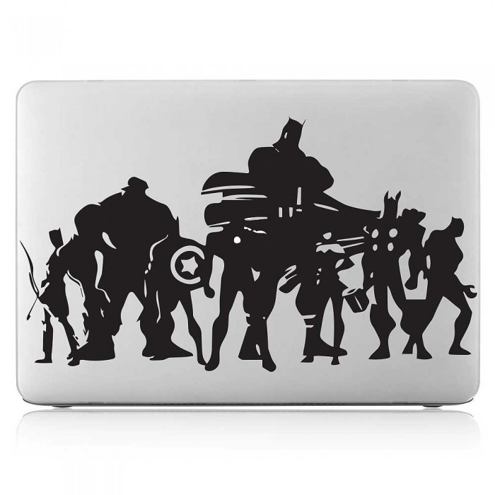 Avengers Superhero Laptop / Macbook Vinyl Decal Sticker (DM-0508)