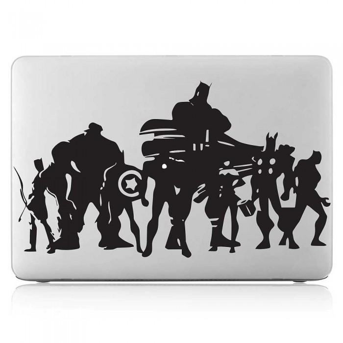 Avengers Superhero Laptop / Macbook Vinyl Decal Sticker (DM-0508)