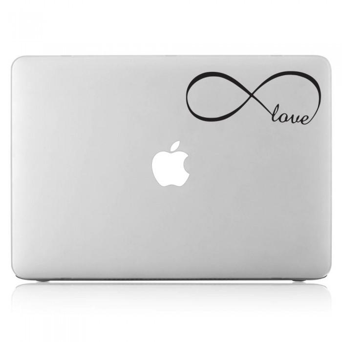 Infinity Love Laptop / Macbook Vinyl Decal Sticker (DM-0515)