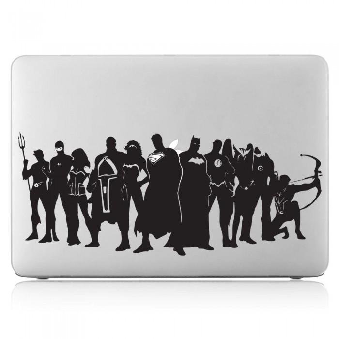 Justice League Superheroes Laptop / Macbook Vinyl Decal Sticker (DM-0519)