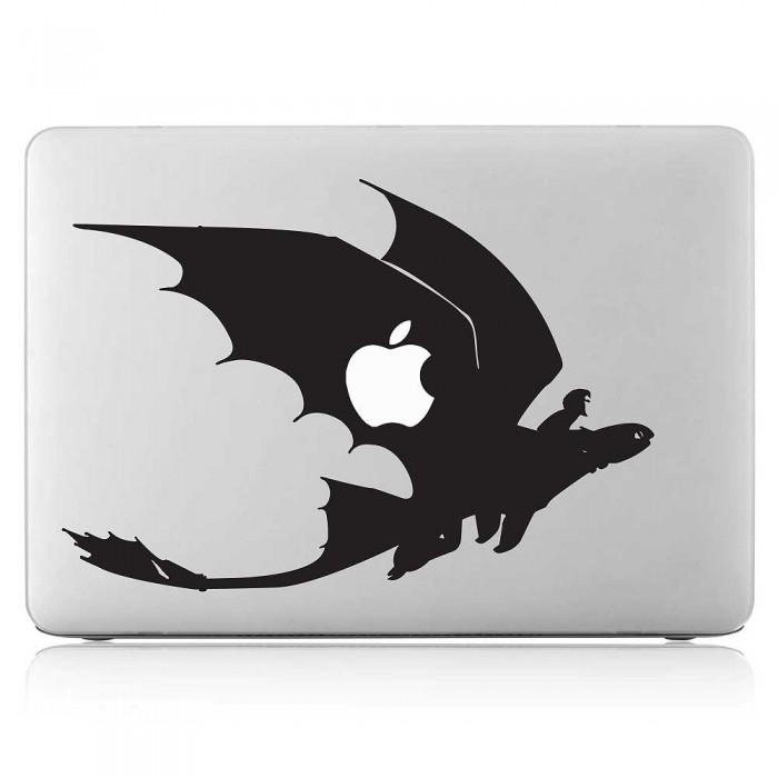 Hiccup and Toothless How to Train Your Dragon Laptop / Macbook Vinyl Decal Sticker (DM-0531)
