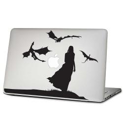 Daenerys Targaryen Mother of Dragons Laptop / Macbook Vinyl Decal Sticker