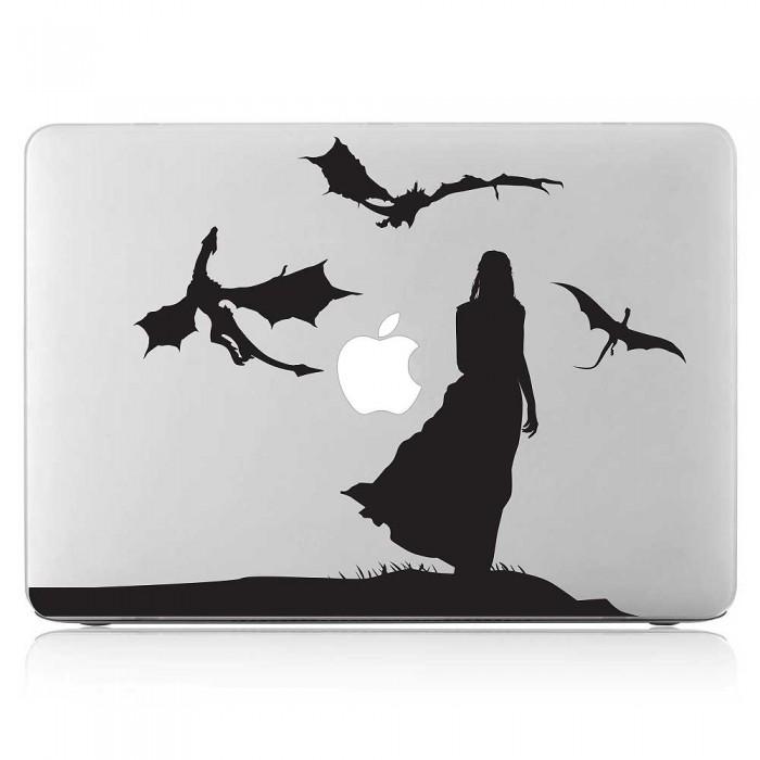 Daenerys Targaryen Mother of Dragons Laptop / Macbook Vinyl Decal Sticker (DM-0551)