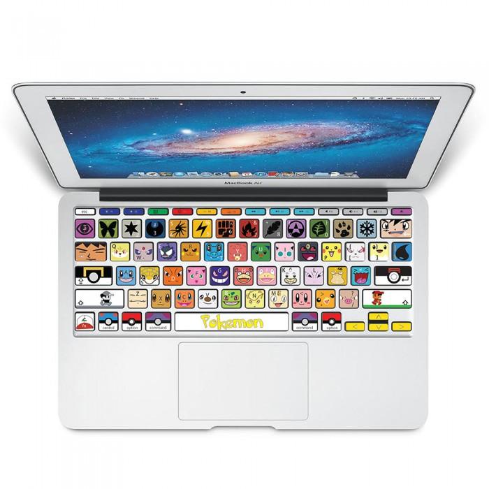 Pokemon Keyboard Stickers for MacBook
