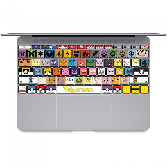 pokemon keyboard stickers images pokemon images. Black Bedroom Furniture Sets. Home Design Ideas