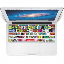 Super Hero Keyboard Stickers for MacBook