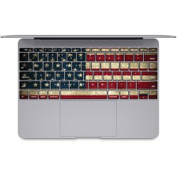 USA flag , United State of America  Keyboard Stickers for MacBook