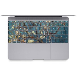 Blossoming Almond Tree - Vincent Van Gogh Keyboard Stickers for MacBook