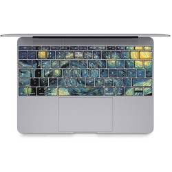 The Starry Night - Vincent Van Gogh  Keyboard Stickers for MacBook