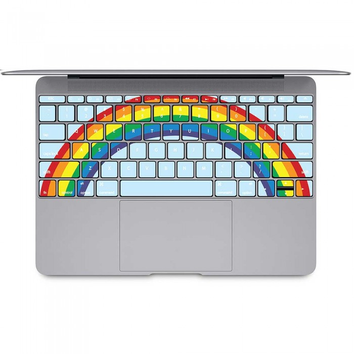 Rainbow Keyboard Stickers for MacBook