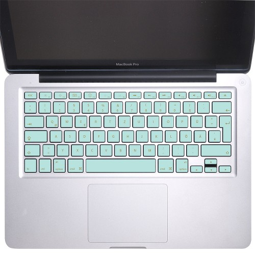 Elegant Blue Keyboard Stickers for MacBook
