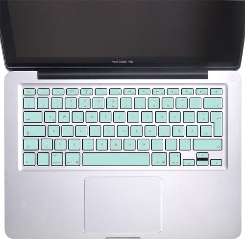 Elegant Blue Keyboard Stickers for MacBook